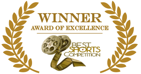 best shorts excellence logo gold